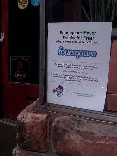 Foursquare deal